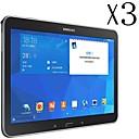 3 PCS Высокая прозрачность ЖК Crystal Clear Screen с Ткань для очистки для Samsung Galaxy Tab 4 10,1 T530 / T531 / T535