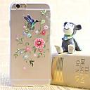 Алмазный цветок Dird Картина прозрачный пластиковый корпус для iPhone 6