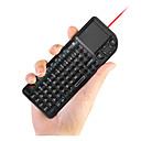 2 в 1 Мини размером с ладонь 2.4G беспроводной клавиатуры и мыши комбо с Touchpad для Google Android TV Box Smart PC