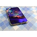 Голубой лазер тонкий защитный Shell для iPhone 6