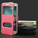 Гладкий шелк шаблон с картой мешок ПУ всего тела открыть окно чехол для Samsung I9300 S3 (ассорти цветов)