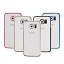 Многоцветный покрытие телефон оболочки для Samsung Galaxy S6 края (разных цветов)