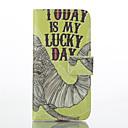 Слон Pattern Кожа PU Окрашенные Телефон чехол для iPhone 6