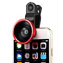 Съемный 220 градусов широкоугольный объектив с Всеобщей Зажим для iPhone 6Plus / 6/5 / Ipad и другие (разных цветов)