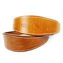 Kaulapannat - Genuine Leather Ruskea/Keltainen - Koirat -