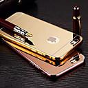 Покрытие Mirror Назад металлический каркас с телефона чехол для iPhone 6 / 6S (разных цветов)
