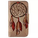 Leaf Pendant Pattern Cell Phone Leather For iPhone 4/4S