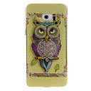 Owl Pattern TPU Back Cover Case for Samsung Galaxy S6/S6 Edge/S6 Edge Plus