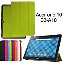 casos tableta protectoras fundas de cuero de la pistolera del soporte para Acer One -A10 10 b3