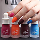 3pcs 10ml Fragrance Frosted Matte Nail Polish Random Color
