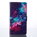 la estrella pintada caja del teléfono de la PU para Huawei P9 / p9lite