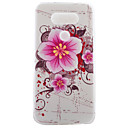 TPU Material Half Flowers Color Painted Pattern Soft Phone Case for Asus ZenFone LG G5