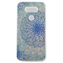 TPU Material Blue and White Painted Pattern Soft Phone Case for Asus ZenFone LG G5