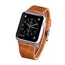 Braun / Orange Leder durable Sport Band Für Samsung Galaxy Uhr 20mm
