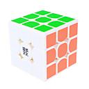 Cubi magici IQ Cube Yongjun Tre strati Velocità Smooth Cube Velocità Magic Cube di puzzle Nero / Bianco ABS