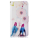 Card Holder Wallet Pattern Bell feathers PU Leather Hard Case For iPhone 7 7 Plus 6s 6 Plus SE 5s 5
