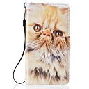 For Samsung Galaxy S7 S7 Edge Cat PU Leather Wallet  S5 S6