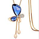 Kettingen Kristal Hangertjes ketting Sieraden Dagelijks / Causaal Geometrische vorm Uniek ontwerp Legering Dames 1 stuks GeschenkWit /