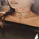 Women's Choker Necklaces Jewelry Bowknot Alloy Basic Euramerican Simple Style Jewelry For Daily Casual 1pc