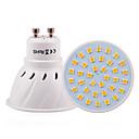 3W GU10 GU5.3(MR16) E26/E27 Żarówki punktowe LED 36 SMD 2835 200-300 lm Ciepła biel Zimna biel Naturalna biel Dekoracyjna V 1 sztuka