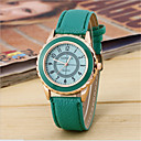 Women's Fashion Watch Quartz Silicone Band Casual Black White Blue