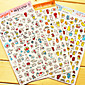 Lovely Diary Scrapbooking Decorate Stickers(Random Color 1 PCS)
