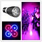 5W E26/E27 LED Spotlight MR16 5 High Power LED 500 lm Purple AC 85-265 V