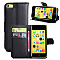 Luxury PU Leather Flip Capa Case For Apple iPhone 5C Wallet Phone Bag  (Assorted Colors)