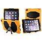 mode verdediger geval waterdichte schokbestendige geval pc + siliconen hybride case cover voor de iPad 2 lucht retina
