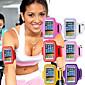 Gymnastikübung wasserdichte Abdeckung mit Tune Belt Training Laufsport Armband für iPhone 6 / 6S (verschiedene Farben)