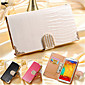 PU Leather + PC Official Clear View Mirror Screen Flip Smart Case For Samsung Galaxy  Note5